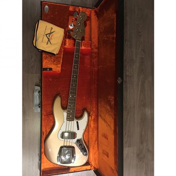 Custom Fender USA Custom Shop '66 Jazz Journeyman NOS Bass 2016 Firemist Gold #1 image