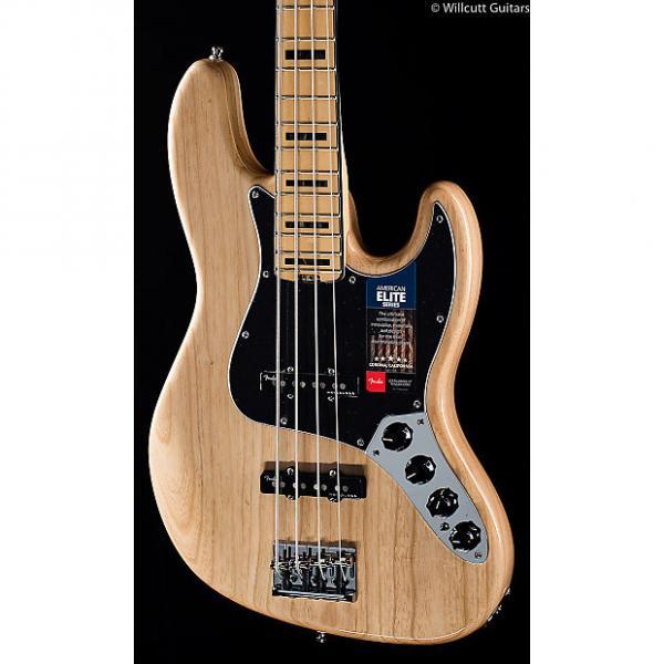 Custom Fender American Elite Jazz Bass Natural (902) #1 image