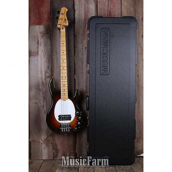 Custom Ernie Ball Stingray 40th Anniversary Old Smoothie Electric Bass Guitar with Case #1 image