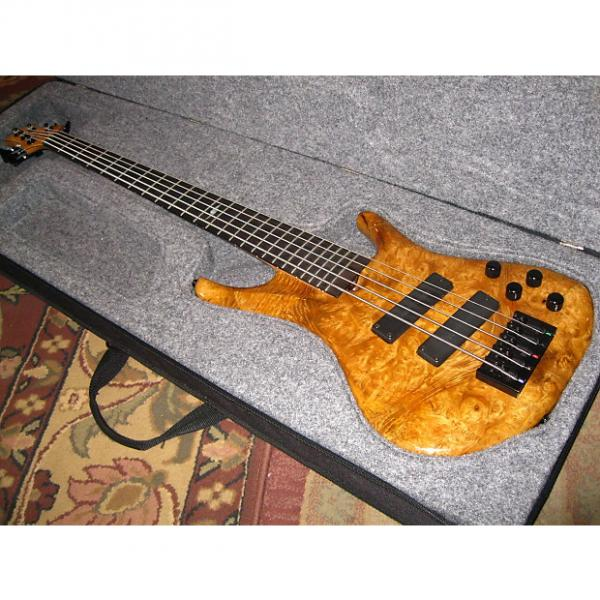 Custom Roscoe LG 3005 Bass Guitar Natural 2006 era #1 image