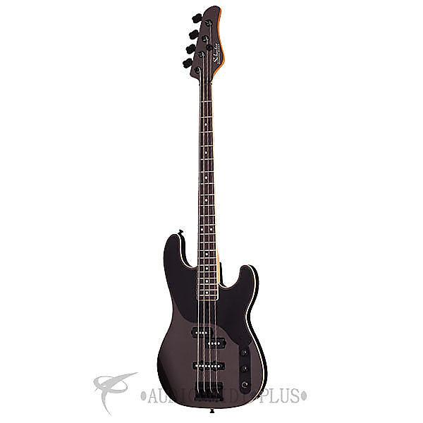 Custom Schecter Michael Anthony Bass Rosewood Fretboard Bass Guitar Carbon Grey - 268 - 815447022023 #1 image