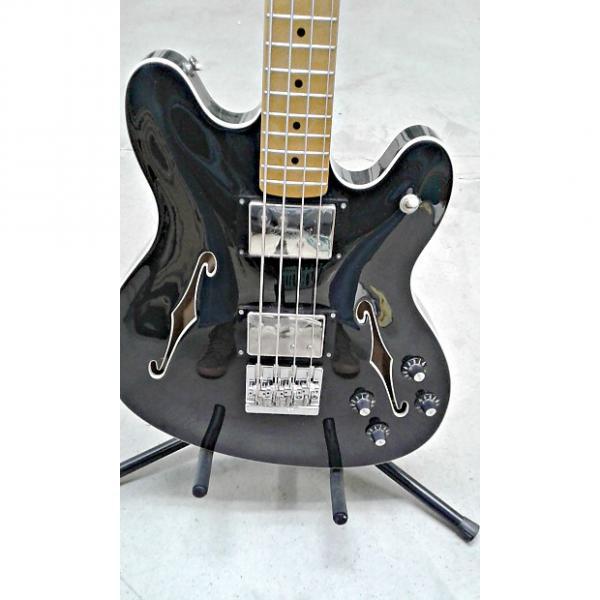 Custom Fender Modern Player Starcaster Bass 2016 Black #1 image