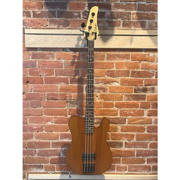 Custom Schecter Baron Diamond Series Prototype Tele Bass #1 image