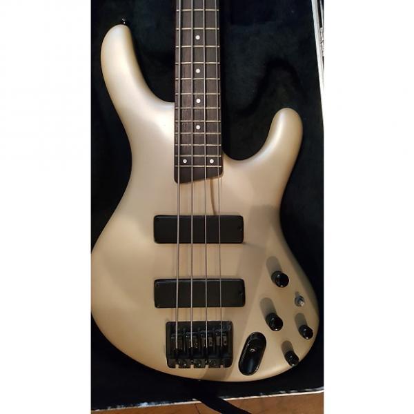 Custom Ibanez 2000 EDB600 Pearl White with SKB Hardshell Case #1 image