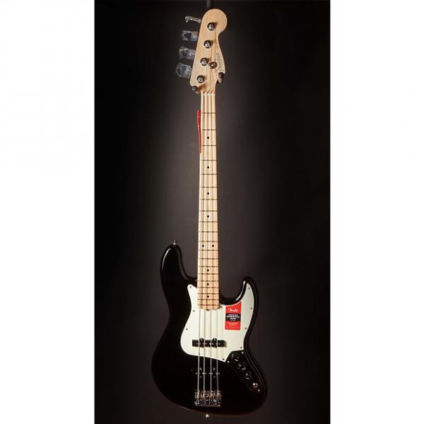 Custom Fender American Pro Jazz Bass, Maple Fingerboard, Black #1 image