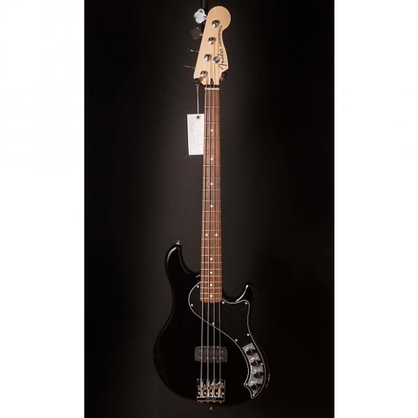 Custom Fender Deluxe Dimension Bass IV Black, Rosewood Fingerboard #1 image