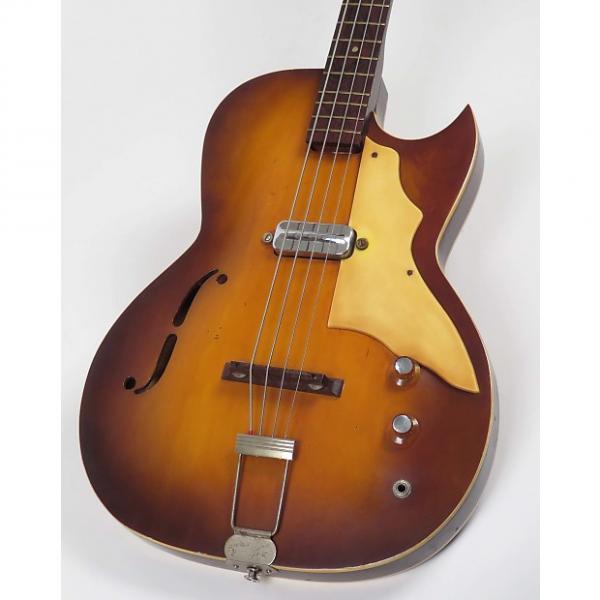 Custom Kay Bass Speed Demon 5920 1960s Sunburst #1 image