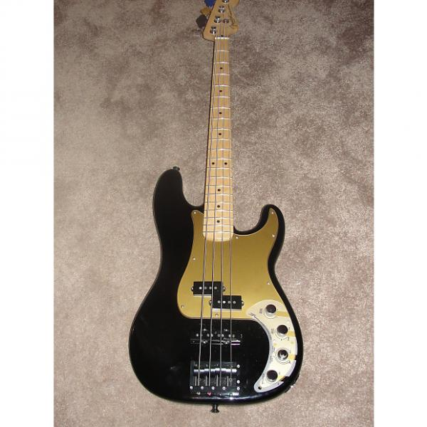 Custom Fender P Bass Special Deluxe Black  (Never Used) Price Reduced! #1 image