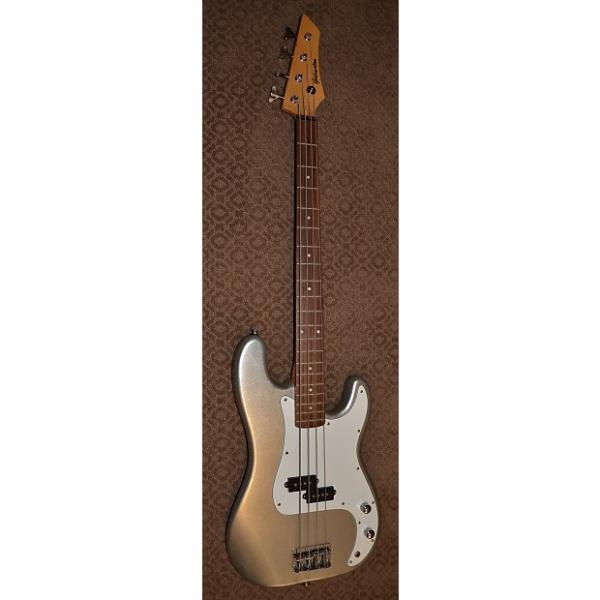 Custom Galveston P Bass 2000's Silver #1 image