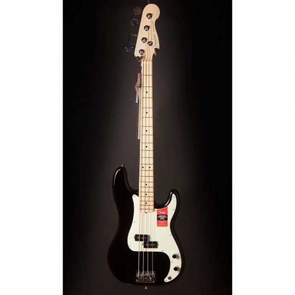 Custom Fender American Pro Precision Bass, Maple Fingerboard, Black #1 image