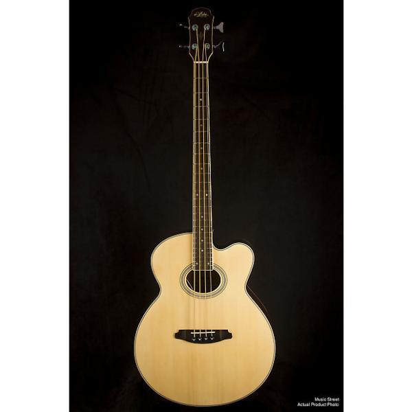 Custom Aria FEB-30M Natural Acoustic Bass #1 image