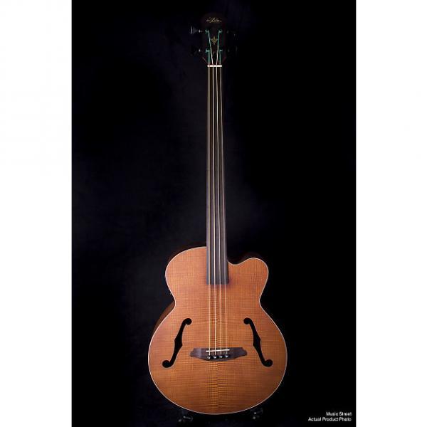 Custom Aria FEB Fretless Acoustic Bass Natural #1 image