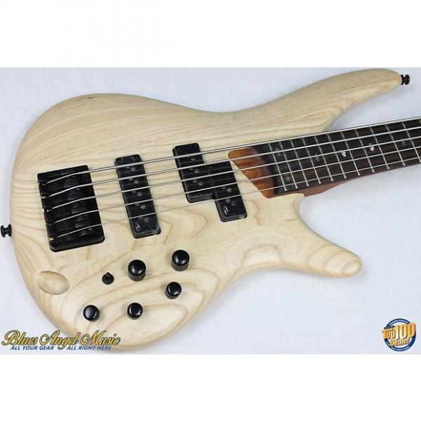 Custom Ibanez SR655 5-String Electric Bass, Natural, Nordstrand CND P'ups, NEW #38925 #1 image