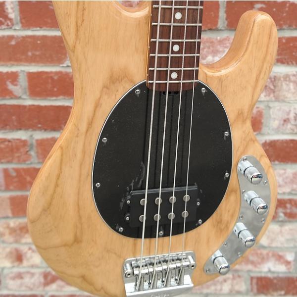 Custom Musicman Stingray Bass Natural Bass Rosewood Black Pickguard RRP $4199 NEW #1 image