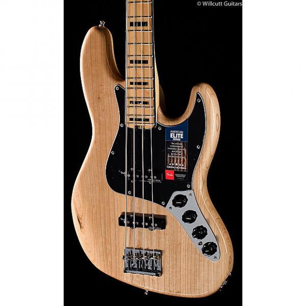 Custom Fender American Elite Jazz Bass Natural (048) #1 image