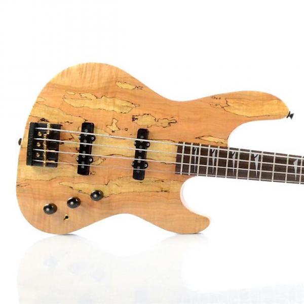 Custom FENDER Custom Precision Jazz Electric Bass Guitar W/ Badass Bridge USA #26453 #1 image