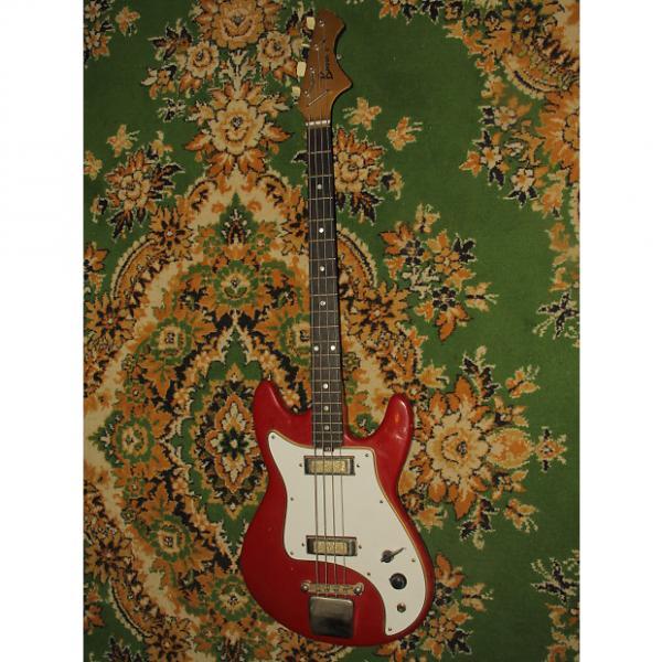 Custom JOLANA Basso V  bass 60s shortscale USSR AXE Guitar VINTAGE RARE #1 image