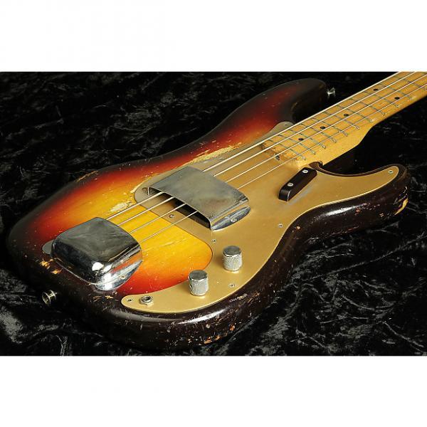 Custom Fender Vintage 1958 Precision Bass Sunburst #1 image