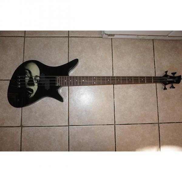 Custom Bass guitar, with beauty face 2016 Black #1 image