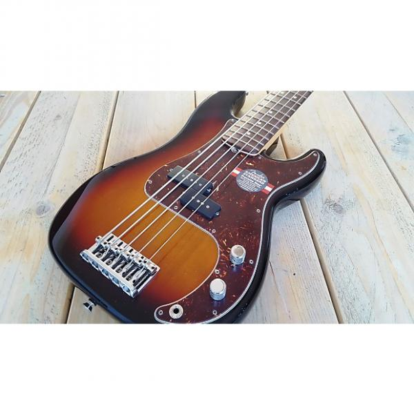 Custom Fender  Precision Bass 5 String Five American Standard V USA 2012 Sunburst #1 image