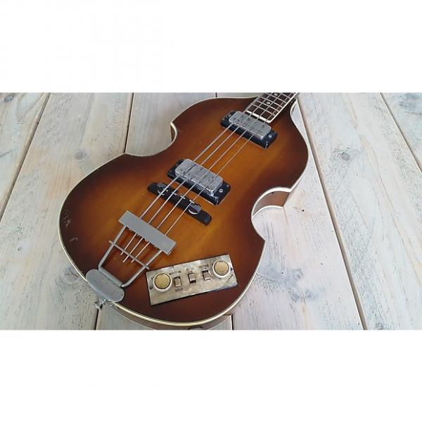 Custom Hofner  500/1 Violin Bass - (Beetle Bass) 1965/66 Sunburst #1 image