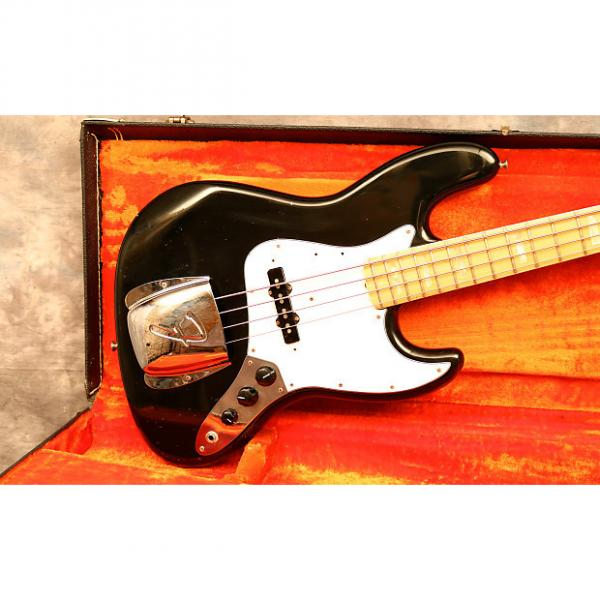 Custom 1975 Fender Jazz Bass Black #1 image
