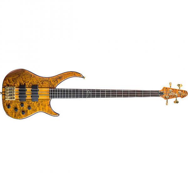Custom Peavey Cirrus 4 Active 4-String Electric Bass Guitar Rosewood Board Tiger Eye #1 image