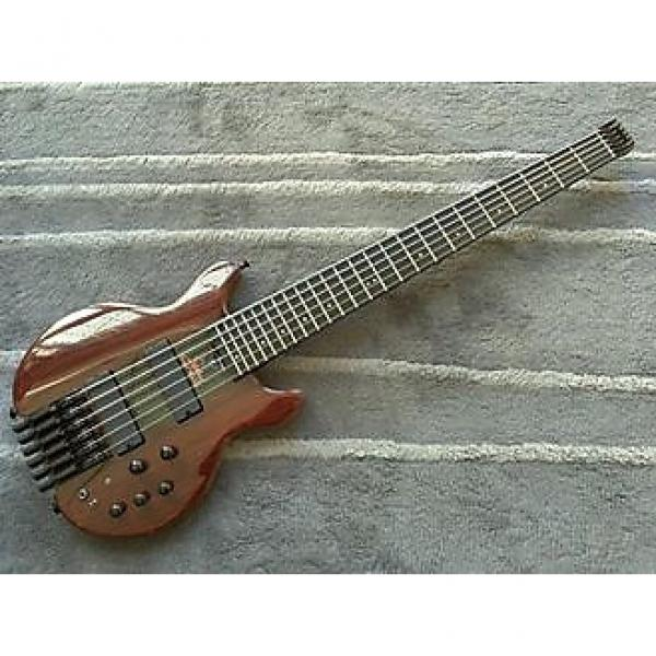 Custom Status KingBass Thru-neck 6-string headless 2008 CocoBolo #1 image
