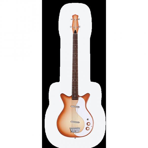Custom Danelectro DC Bass long scale Bass from the world's largest Danelectro dealer 2017 copperburst #1 image