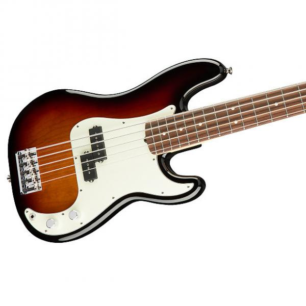 Custom Fender American Pro Precision Bass V 5-String, Rosewood Fingerboard, Hard Case - 3-Color Sunburst #1 image