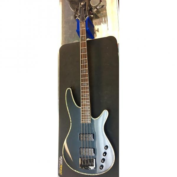 Custom Ibanez Soundgear SDGR N427 used Steel Blue with Metallic Flake #1 image