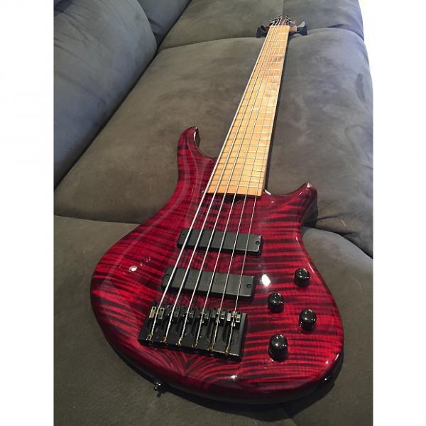 Custom Roscoe SKB Custom 6 String - Cordovan Red #1 image