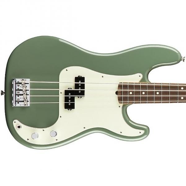 Custom Fender American Professional Precision Bass, Rosewood Fingerboard - Antique Olive #1 image