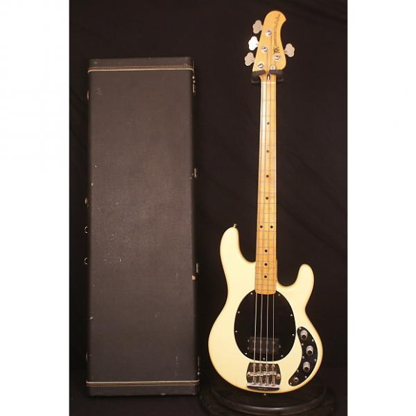 Custom 1979 Pre Ernie Ball Fender era Olympic White Music Man Stingray electric bass guitar all original #1 image