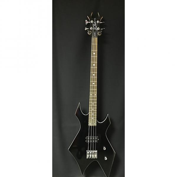 Custom B.C. Rich Revenge Warlock  Black Electric Bass Guitar #1 image