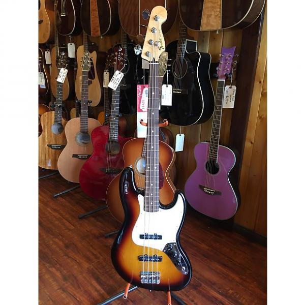 Custom Fender Standard Jazz Bass Brown Sunburst MIM #1 image