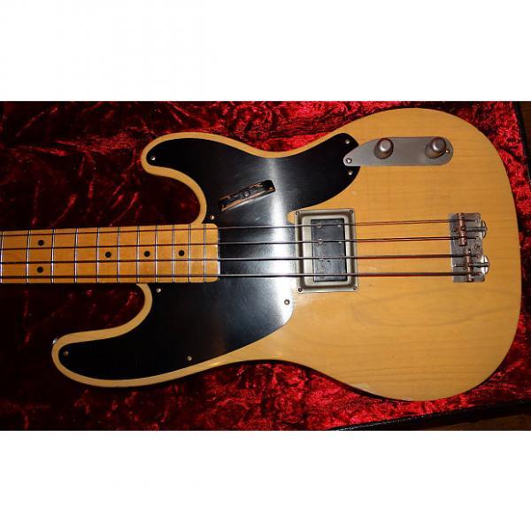 Custom RS Guitarworks Slab Bass Hammon Darkstar 2010 Anitique Natural #1 image