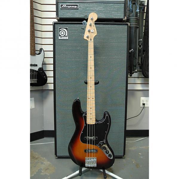Custom Fender Deluxe Active Jazz Bass 2016 3-Color Sunburst #1 image