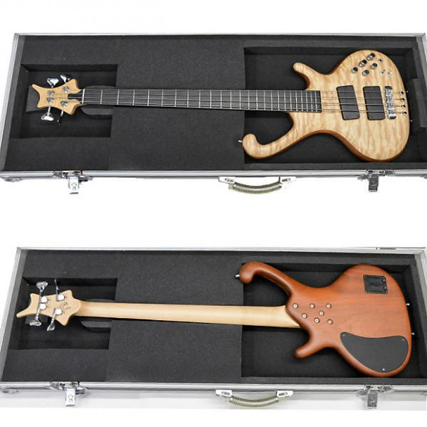 Custom Ritter Roya 4-Strings Bass Guitar Incl OHSC *Displayed model *Worldwide S/H #1 image
