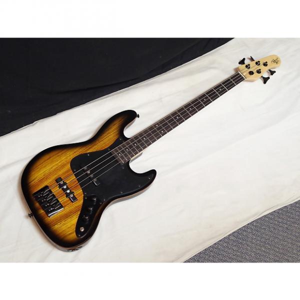 Custom MICHAEL KELLY Element 4-string electric BASS guitar NEW - Zebra Burst #1 image