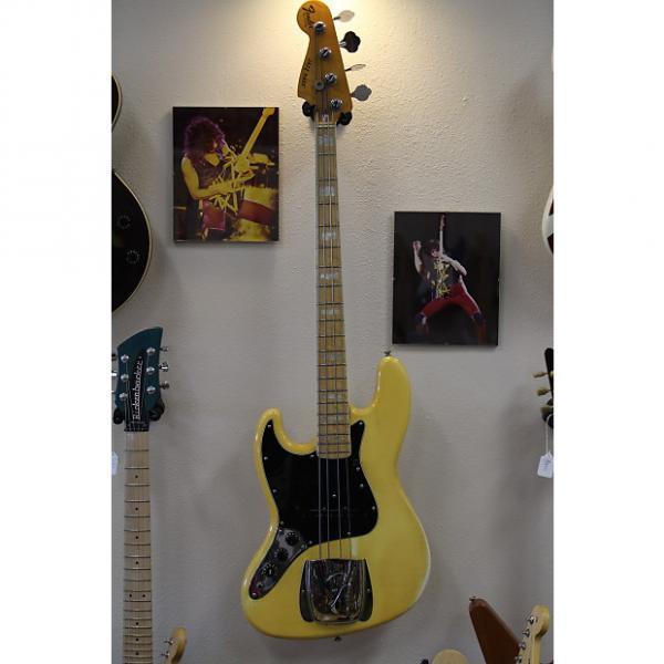 Custom Fender Jazz Lefty 1978 Cream #1 image