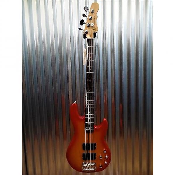 Custom G&L Tribute M-2000 4 String Bass Honeyburst 3 Band Active EQ - M2000 #0974 #1 image