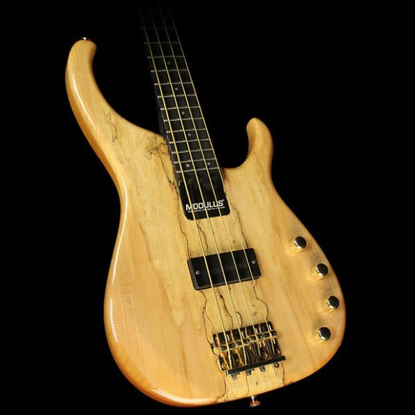 Custom 1996 Modulus Quantum Sweet Spot Electric Bass Guitar Spalted Maple #1 image