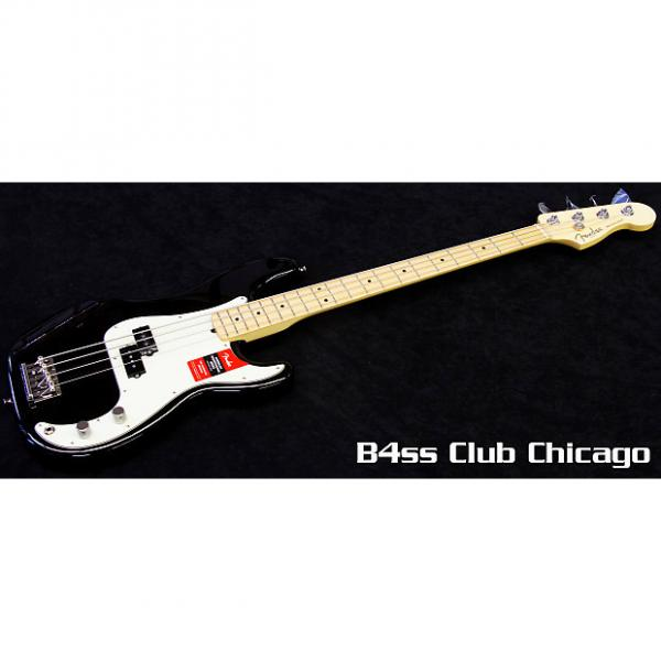 Custom Fender American Pro Precision Bass Black #1 image