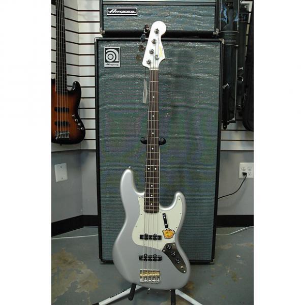 Custom Squier Classic Vibe '60s Jazz Bass 2016 Inca Silver #1 image