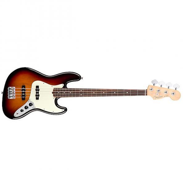 Custom Fender American Professional Jazz Bass Rosewood 3-Color Sunburst #1 image