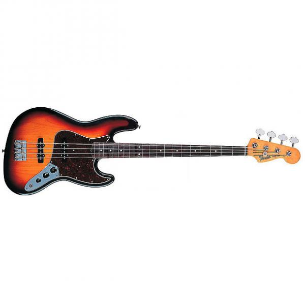 Custom Fender 60s Jazz Bass Guitar Rosewood Fretboard 3 Color Sunburst #1 image