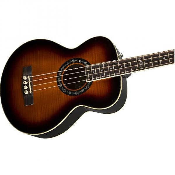 Custom Cool! Fender T-Bucket 300E Acoustic/Electric Bass! New in Box w/ Free Shipping! #1 image
