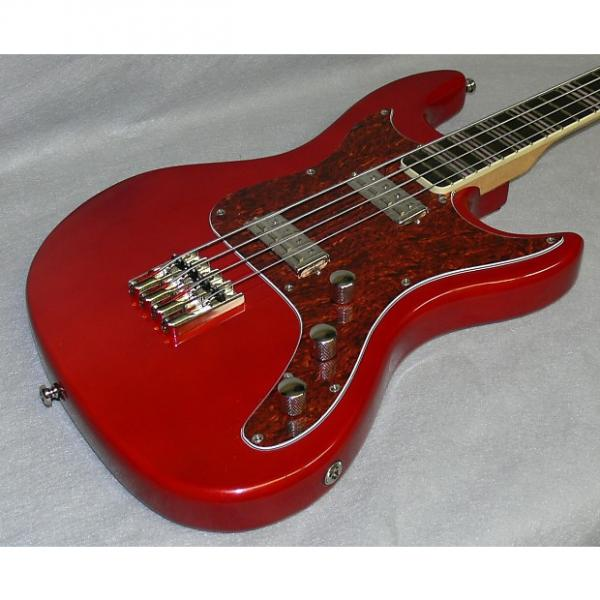 Custom Hofner Galaxie 4 Candy Apple Red Short Scale Bass #1 image