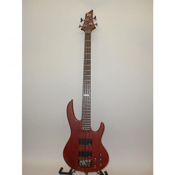 Custom ESP LTD D-4 4-String Bass Guitar SATIN NATURAL - Previously Owned #1 image